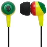SKULLCANDY Jib In-Ear [S2DUDZ-058] - Rasta - Earphone Ear Monitor / Iem